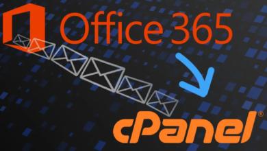 كيفية إعداد Office 365 في cPanel
